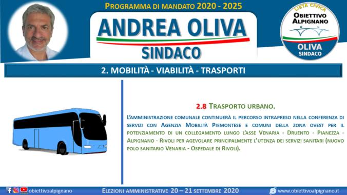 2.8 trasporto urbano